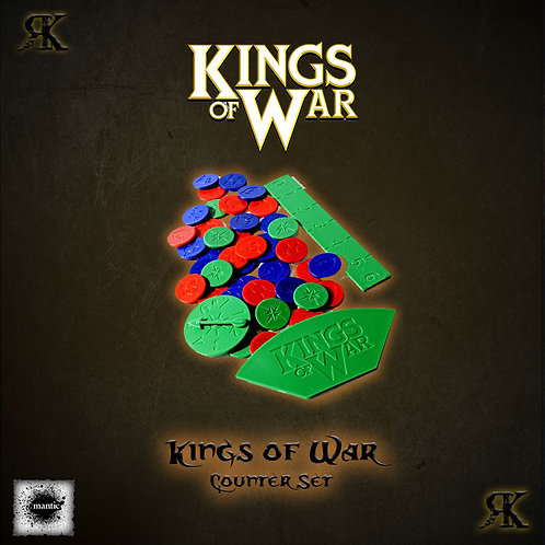 Kings of War 2nd edition Counter Set