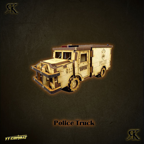 Police Truck (28/32mm)