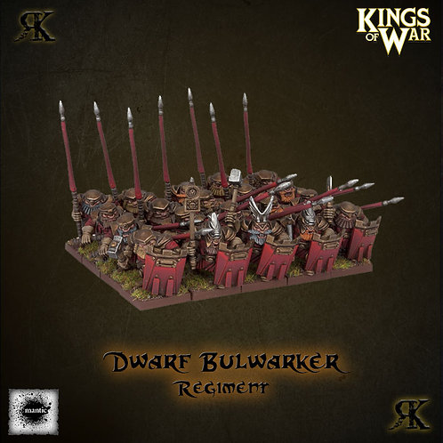Dwarf Bulwarkers Regiment