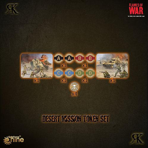 Desert Mission Token Set