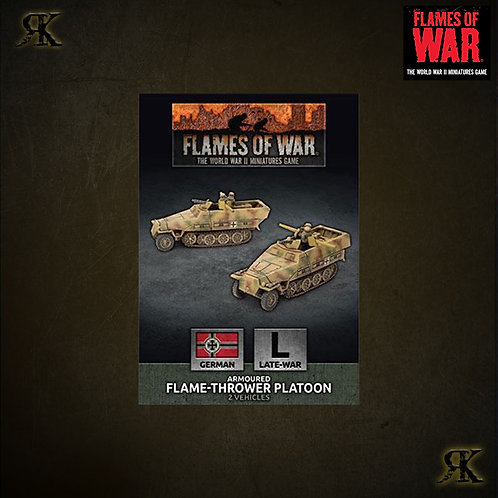 Armoured Flame-Thrower Platoon