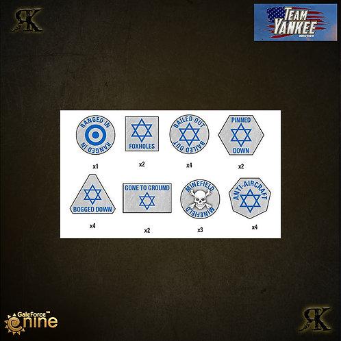 Israeli Token Set (x21)