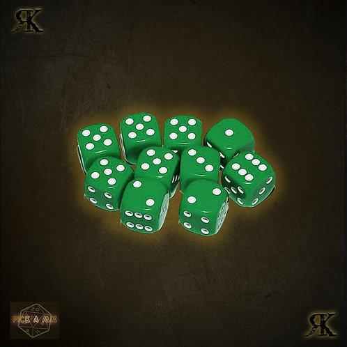 Basic Green D6