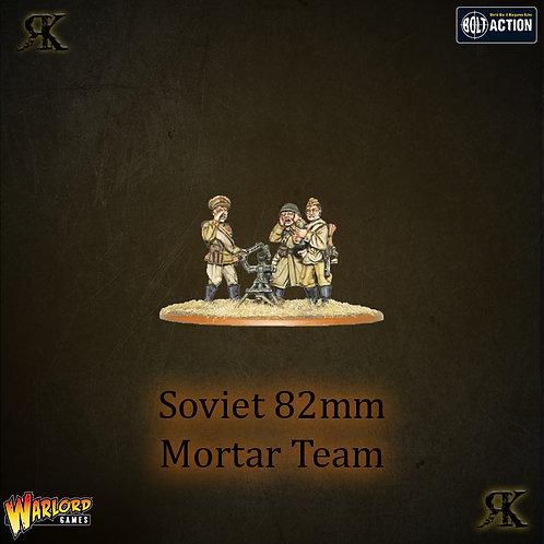 Soviet 82mm Mortar Team