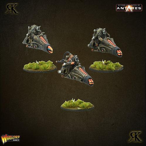 Isorian Pulse Bike Command Squad