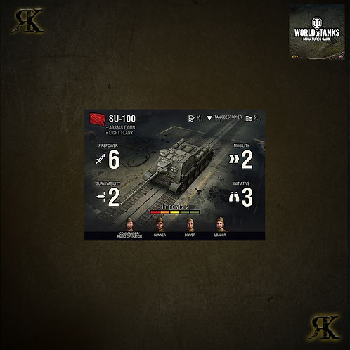 WOT Soviet SU100 Expansion