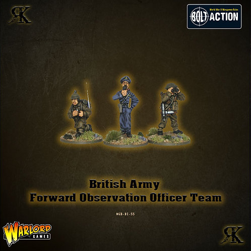 British Army Forward Observation Officer Team
