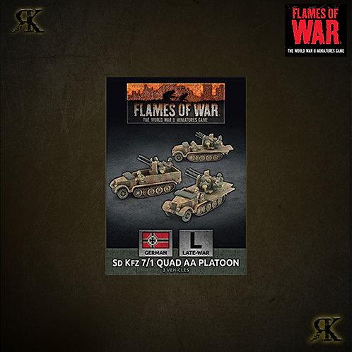 Sdkfz 7/1 Quad AA Platoon