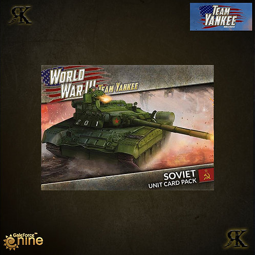 WWIII: Soviet Unit Card Pack
