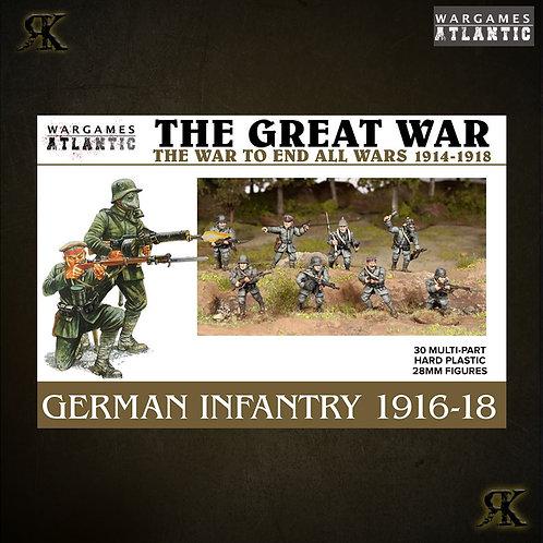 German Infantry 1916-1918