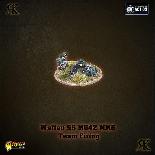 Waffen-SS MG42 MMG team firing (1943-45)