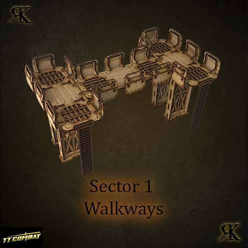 Sector 1 Walkways