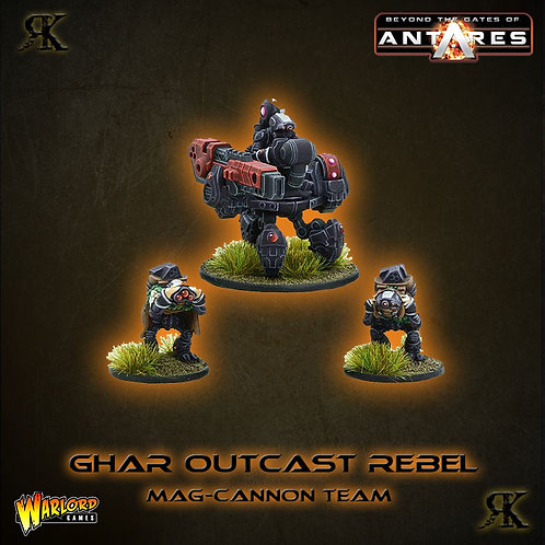 Ghar Outcast Rebel Mag cannon team