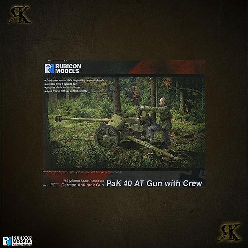 PaK 40 AT Gun with Crew