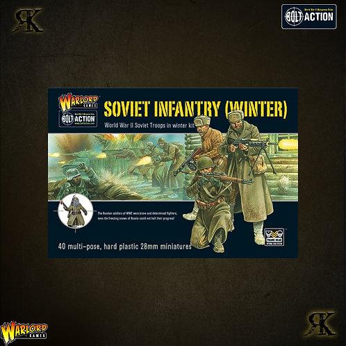 Soviet Winter Infantry Plastic Boxed Set