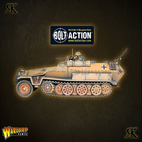 SD.KFZ 251-1 Ausf C Hanomag