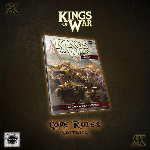 Kings of War 2nd Edition Softback Rulebook