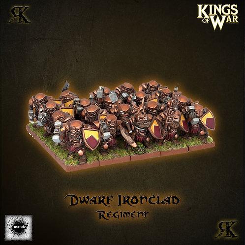 Dwarf Ironclad Regiment