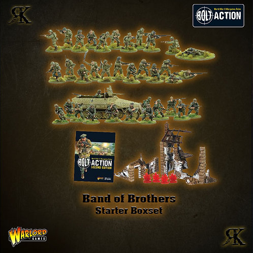 """Bolt Action 2nd Edition Starter Set - """"Band of Brothers"""""""