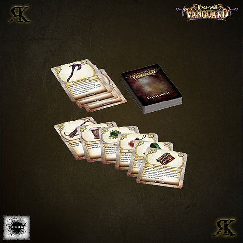 Kings of War Equipment Cards