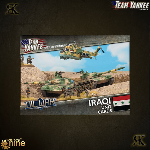 Iraqi Unit Cards