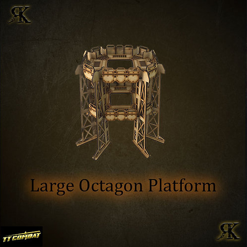 Large Octagon Platform