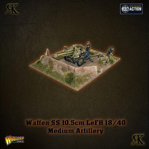 Waffen-SS 10.5cm LeFH 18/40 medium artillery (1943-45)