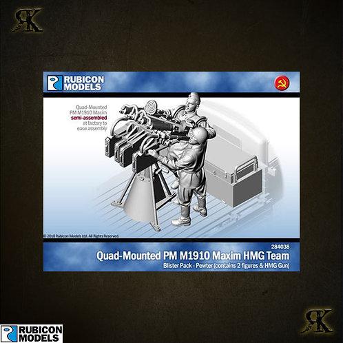 284038 - Quad-Mounted PM M1910 Maxim HMG Team