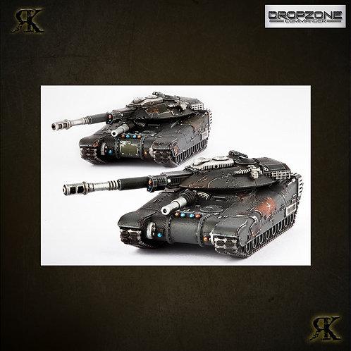M9 Hannibal / Mehmed Siege Tanks