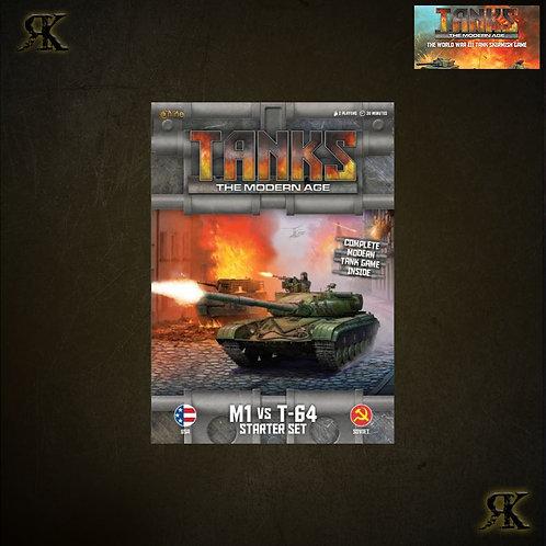 Tanks Modern Age: M1 vs T-64 Starter Set