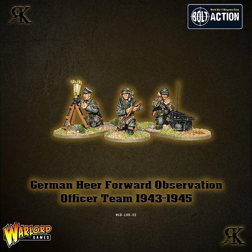 German Heer Forward Observation Officer Team