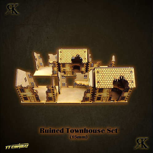 Ruined Townhouse Set (15mm)