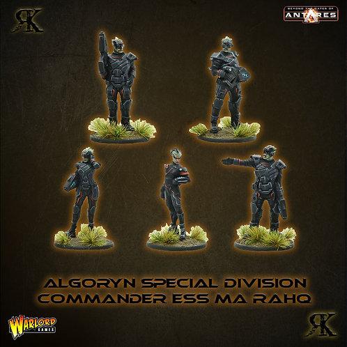 Algoryn Special Division Commander Ess Ma Rahq