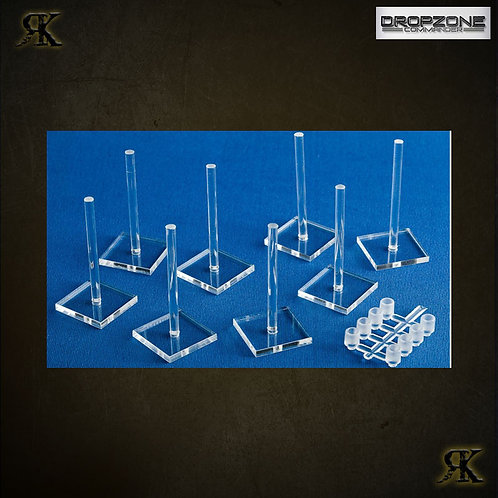 Dropzone Commander Small Flight Stands (8)