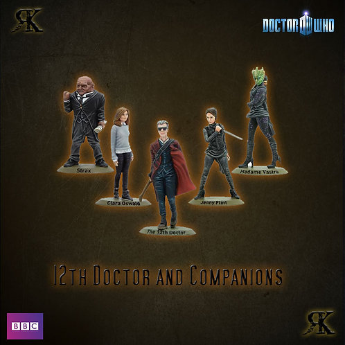 12th Doctor and Companions