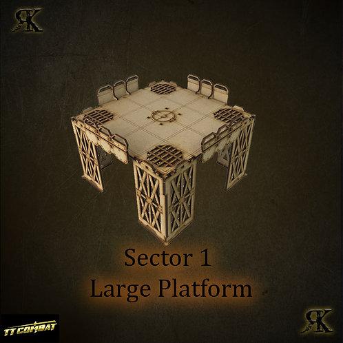 Sector 1 Large Platform