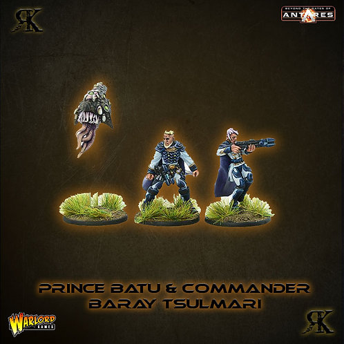 Prince Batu Delhren & Commander Baray Tsulmari
