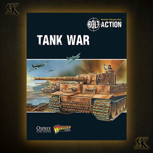 Tank War: A Bolt Action Supplement