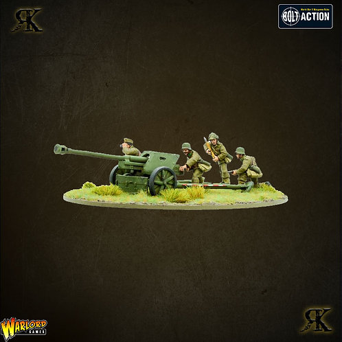 Hungarian Army PAK 40 Anti Tank Gun