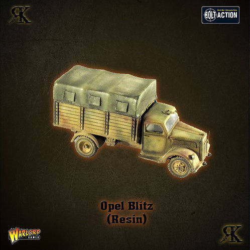 Opel Blitz Truck - Closed Canopy (Resin)