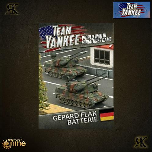 Gepard Flak Batterie
