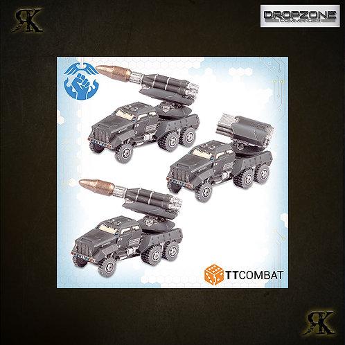 Kalium Storm Artillery Wagons