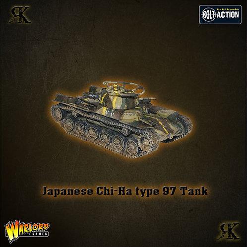 Japanese Type 97 Chi-Ha tank