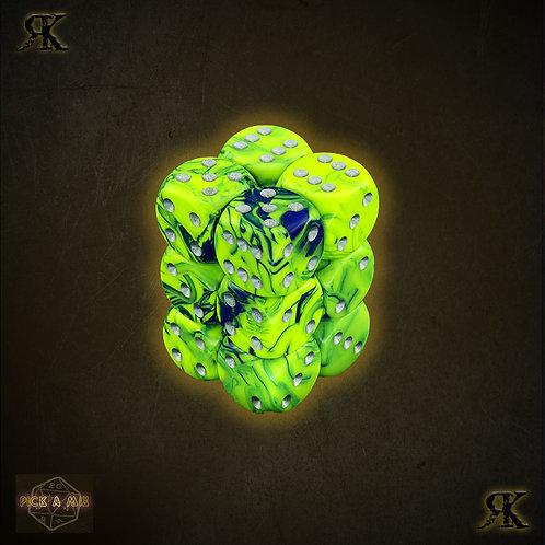 Slime Green D6