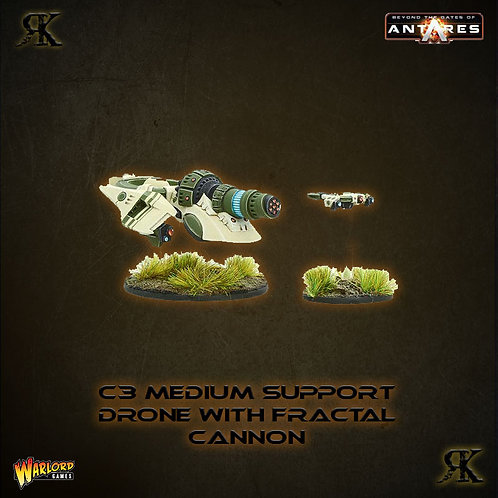 Concord C3D2 Medium Support Drone with Fractal Cannon