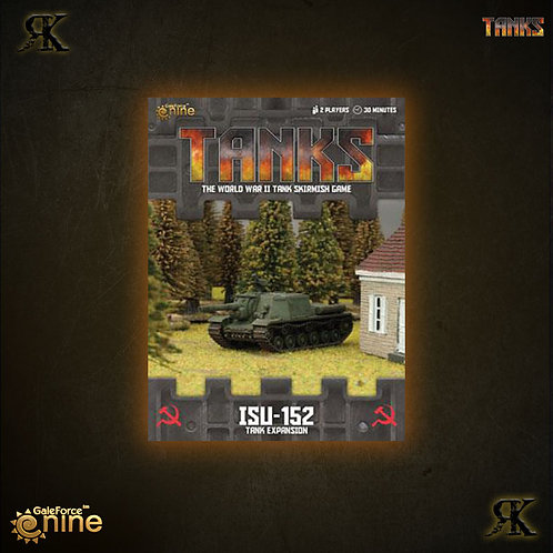 Soviet ISU122 / ISU152 Tank expansion