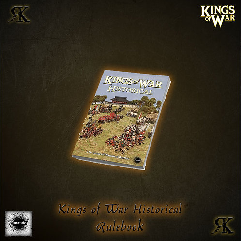 King's of War Historical Rulebook