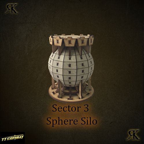 Sector 3 Sphere Silo