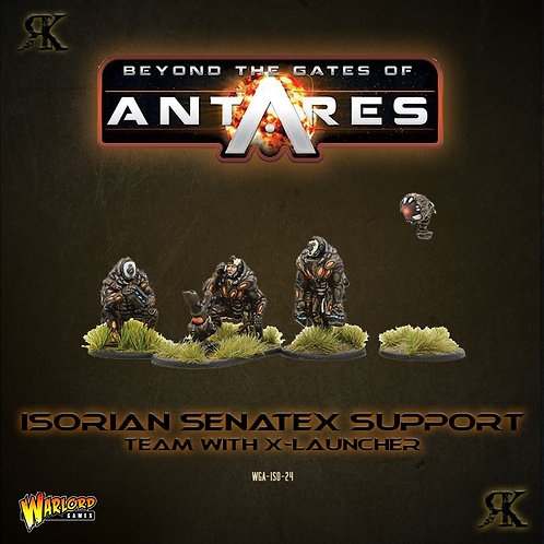 Isorian Senatex Support Team with X-Launcher