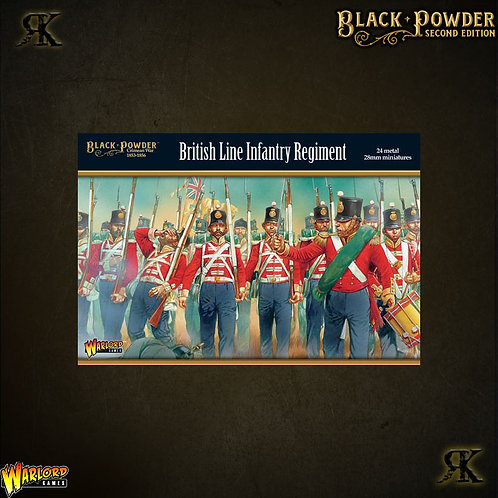 Crimean War British Line Infantry Regiment